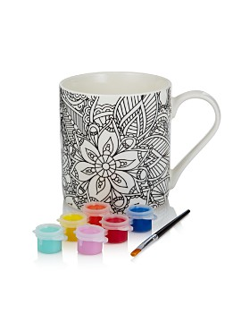 Home Essentials & Beyond - A Splash of Color Paint Your Own Mug