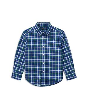 Ralph Lauren Childrenswear Boys Lightweight Twill Plaid Shirt  Little Kid