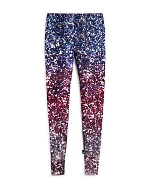 Terez Girls Ombre GlitterPrint Leggings  Big Kid