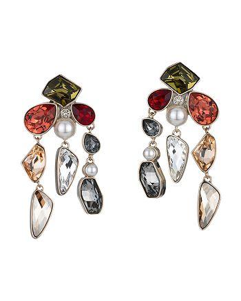 Atelier Swarovski - Mosaic Clip-On Earrings