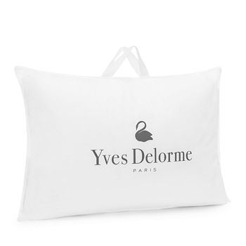 Yves Delorme - Down & Feather Medium Pillow, Standard