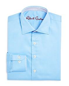 Robert Graham - Boys' Solid Dress Shirt - Big Kid