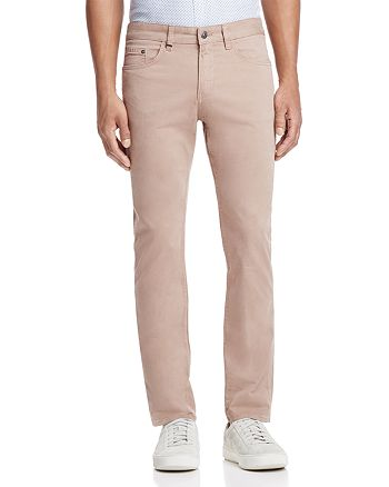 BOSS - Delaware Slim Fit Pants in Medium Beige