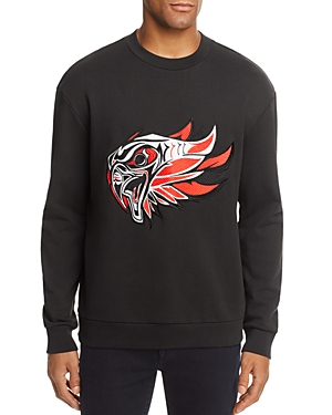 Hugo Boss Dohnsons Embroidered Crewneck Sweatshirt