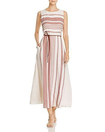 68b4db8b36a Weekend Max Mara - Dimitri Striped-Front Maxi Dress