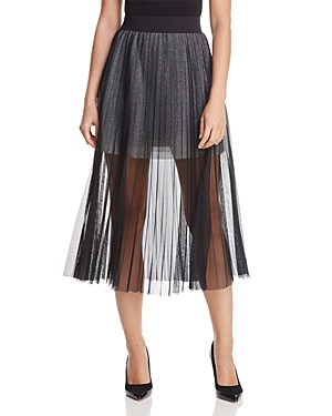 French Connection Daphne Illusion Midi Skirt