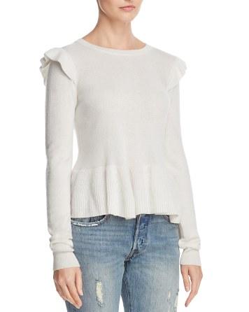 $Rebecca Minkoff Regina Wool & Cashmere Sweater - Bloomingdale's