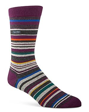 Calvin Klein Barcode Multistripe Socks
