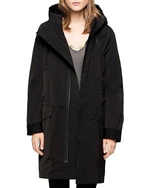 Zadig & Voltaire Karl Hooded Coat