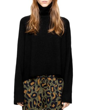 Zadig & Voltaire Cea Shimmer-Knit Sweater