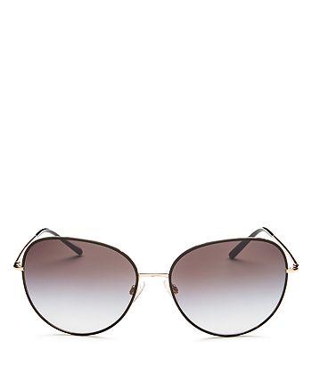 Dolce&Gabbana - Women's Round Sunglasses, 58mm