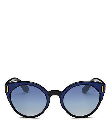 Prada - Women's Cat Eye Sunglasses, 53mm