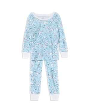 Aden and Anais Girls' Shark Pajama Set - Baby