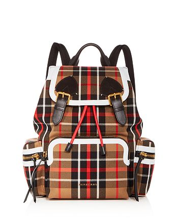 Burberry - Medium Tartan Backpack