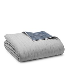 Oake Chambray Pleated Coverlets - 100% Exclusive - Bloomingdale's_0