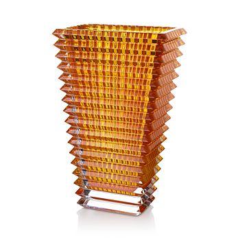 Baccarat - Large Amber Eye Vase