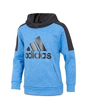 Adidas Boys Fleece Logo Hoodie  Big Kid
