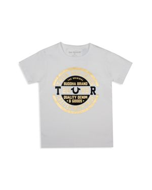 True Religion Boys' Metallic Logo Tee - Little Kid