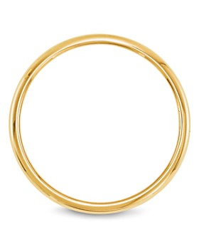Bloomingdale's - Men's 2mm Half Round Band Ring in 14K Yellow Gold - 100% Exclusive
