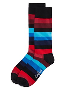 Happy Socks Multi Striped Socks - Bloomingdale's_0
