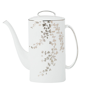kate spade new york Gardner Street Platinum Coffee Pot-Home