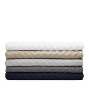 Hudson Park Double Diamond Coverlet, King - 100% Exclusive