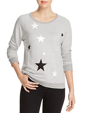 Sundry Metallic-Star Sweatshirt