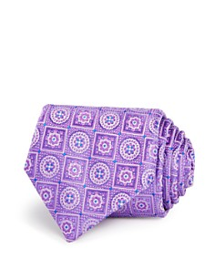 Canali Circle Square Medallion Classic Tie - Bloomingdale's_0
