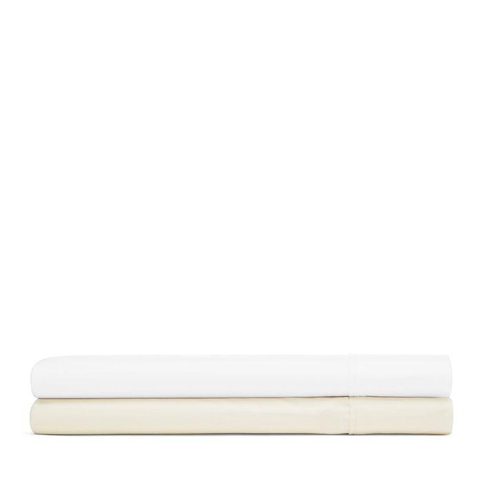 Bloomingdale's Essentials - Organic Dobby Stripe Sheet Set, Full - 100% Exclusive