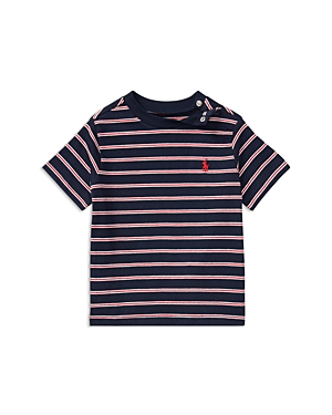 Ralph Lauren Childrenswear Boys Striped Tee  Baby