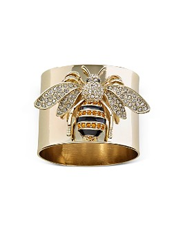 Joanna Buchanan - Stripey Bee Napkin Rings, Set of 2