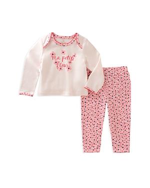 kate spade new york Girls' Ma Petit Fleur Pajama Set - Baby