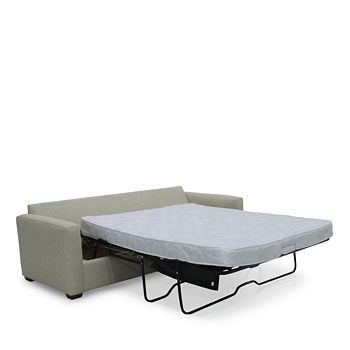 Bloomingdale's Artisan Collection - Noah Queen Sleeper Sofa with Storage Ottoman