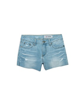 ag Adriano Goldschmied Kids - Girls' The Shelby Denim Shorts - Big Kid