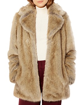 KAREN MILLEN - Faux-Fur Coat