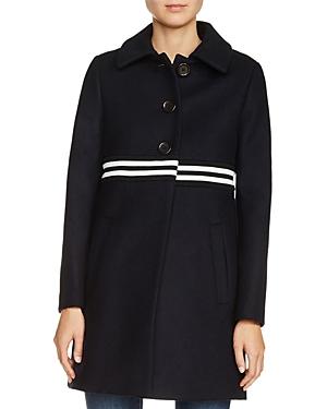 Maje Grex Wool-Blend Coat