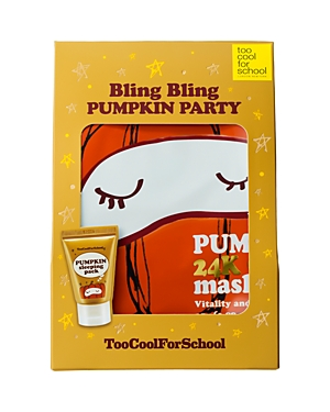 Too Cool For School Bling Bling Pumpkin Party Gift Set