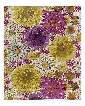 Tufenkian Artisan Carpets - Bouquet Spring Floral Collection Area Rug, 3' x 5'