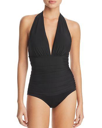 5ec25b8642e43 Magicsuit Solid Claudia One Piece Swimsuit | Bloomingdale's