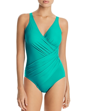 Miraclesuit Must Have Oceanus Ruched One Piece Swimsuit