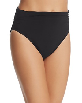 Magicsuit - Solid Jersey Shirred Bikini Bottom