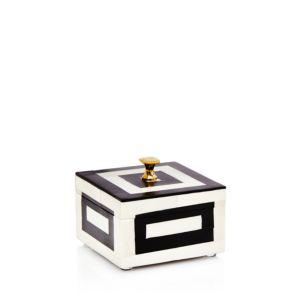 Kassatex Monochrome Small Square Box
