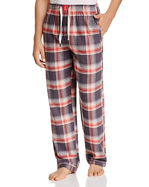 Psycho Bunny Plaid Flannel Pajama Pants
