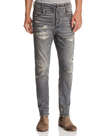 G-STAR RAW - D-Staq 3D Super Slim Fit Jeans in Medium Aged Restored