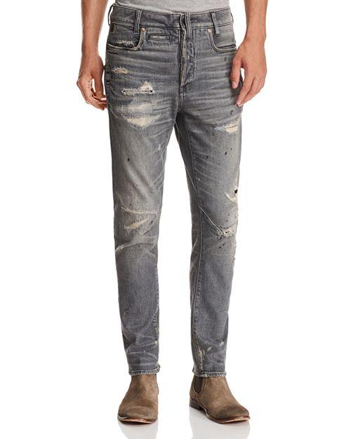 G-STAR RAW - D-Staq 3D Super Slim Fit Jeans in Medium Aged Restored