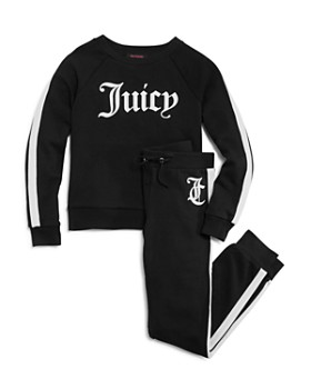 Juicy Couture Black Label - Girls' Logo Sweater - Big Kid