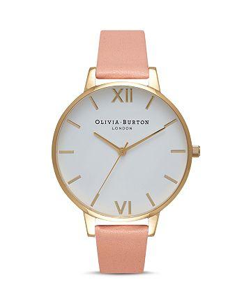 Olivia Burton - White Dial Watch, 38mm