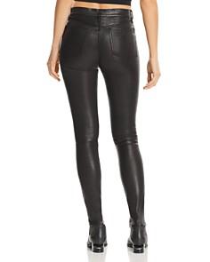 rag & bone/JEAN - High-Rise Skinny Leather Pants