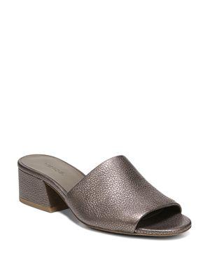 Vince Women's Karissa Leather Slide Sandals 2691323