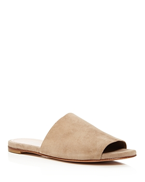Charles David Women's Suede Slide Sandals